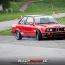 Johanne Gogol im BMW E30 am TÜV Neuss