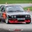 Dirk Vogel im BMW E30 am TÜV Neuss