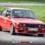Jens Rissel im BMW E30 am TÜV Neuss