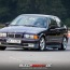 Patrick Haase im BMW E36 in Weeze