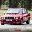 Michael Corr im BMW E30 in Weeze