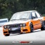 Thomas Felsenberg im BMW E30 in Weeze