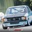 Jens Hainke im Opel Kadett in Weeze