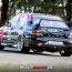 Mario Fuchs im Mitsubishi Lancer Evolution in Weeze